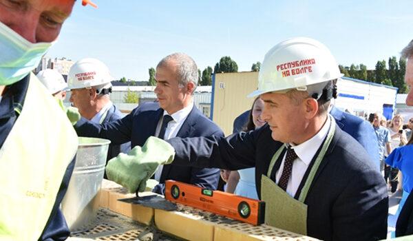 Начато строительство школы в Садовом на 1650 учеников