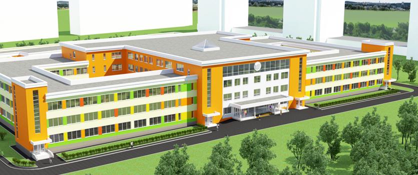 В Чувашии начали строить самую большую школу республики